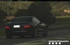 Sorprendido conduciendo a 197 km/h por la N-260 en Montferrer