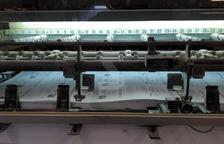 Una empresa de Mollerussa imprimeix les paperetes del 10-N