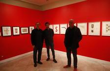 Brossa, Iglésias del Marquet i Viladot 'reviuen' al Museu Morera 50 anys després de la Petite Galerie
