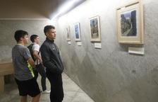 Homenatge pictòric a Jesús Moncada i Mequinensa