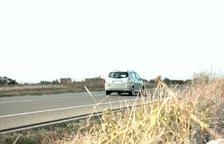 Cazan a un vecino de Anglesola a 192 km/h en Ciutadilla