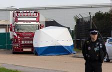 Els immigrants trobats morts en un camió van morir congelats