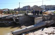 Calvet anuncia 1,5 millones para el puente de El Vilosell y pide a la CHE actuar de urgencia