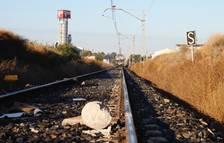 Sabotatge al tren de Lleida a Calaf