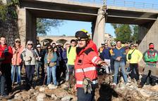 Més de 200 persones busquen els quatre desapareguts pel temporal a Tarragona