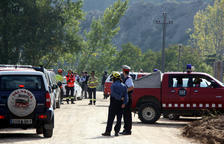Troben el cadàver d'un dels quatre desapareguts a causa del temporal