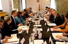 En marcha la comisión del Govern y el Sobirà para impulsar la comarca