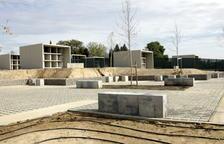 Alcarràs abre por primera vez las puertas del nuevo cementerio coincidiendo con Tots Sants