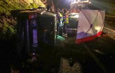 Mueren los 2 ocupantes de un coche en otro siniestro en la N-230 en Benabarre