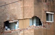 Ordenan demoler un bloque de Badalona con riesgo de derrumbe