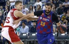 El Barça sufre para superar al Fuenlabrada en el Palau
