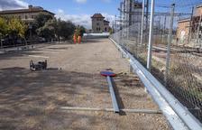 Abren el nuevo parking gratuito junto a la estación de trenes de Cervera