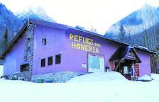 Imatge d'arxiu del refugi dera Honeria de Canejan.