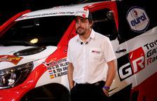 Alonso se sube al podio en un Rally