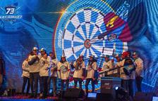 Cervera embogeix amb la celebració dels títols mundials de Marc i Àlex Márquez