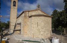Un fresc decorarà el cor de l'ermita de Sant Eloi de Tàrrega