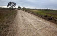 El Gobierno mejora 5 kilómetros de caminos de Castellserà