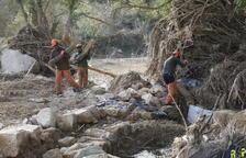Despliegan máquinas para restaurar el río Gorg en L'Albi