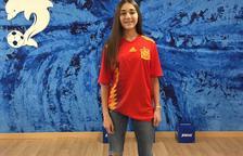 Ona Baradad, con la sub-16 española