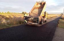 Obras en El Poal para pavimentar varias calles y caminos