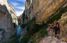 Mont-rebei perd en dos anys el 10% del turisme d'estiu per allaus