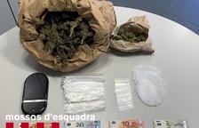 Detenida una pareja de Arbeca por traficar con cocaína y 'maría'