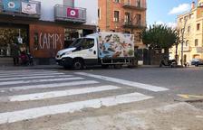 Solsona extrema la seguretat dels vianants a la plaça del Camp
