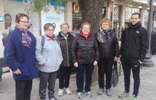 Grups de passeig a Solsona amb un monitor per a gent gran