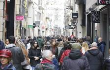 Imagen de archivo del Eix comercial de Lleida.