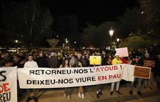 Protesten contra la deportació d'un jove arrestat a Lleida durant els disturbis de Lleida