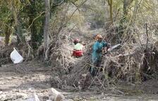 Les obres d'emergència als rius de Lleida costen 3,2 milions d'euros