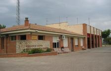 Vista del actual del parque de bomberos de Balaguer.
