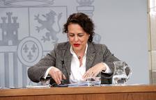La ministra de Treball en funcions, Magdalena Valerio.