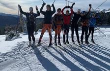 Mig miler d'esquiadors a les pistes de nòrdic