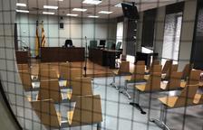 Imagen del interior de un juzgado del Canyeret.
