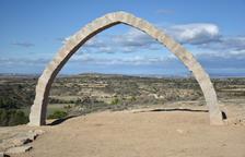 El Arc d'Adar recupera su imagen original