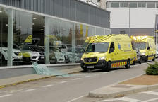 Un client atropella sense voler un comercial en un concessionari de Lleida