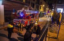 Intoxicat un policia local a l'incendi d'un pis a Tàrrega