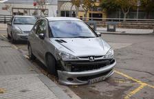 Evacuen a l'Arnau un motorista al xocar amb un cotxe a Tàrrega