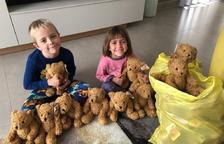 Les Borges vende 400 osos de peluche en solidaridad con los afectados por las riadas