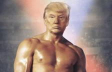 El president Donald Trump es compara amb Rocky Balboa