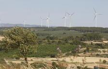 Planta solar de 75 hectáreas en Llardecans, al lado del parque eólico