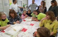 Talleres con las familias en la escuela Mont-roig