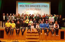 Alcarràs reconoce a sus 22 clubs en su 'IV Festa de l'Esport'
