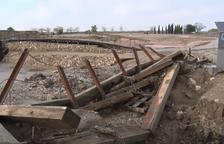 Els Vilars de Arbeca abre al mes y medio de las inundaciones