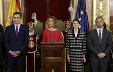 Sánchez ve en la Constitución la respuesta a la crisis territorial, mientras negocia con ERC