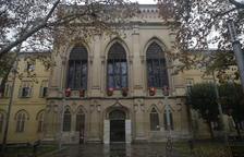El edificio del Rectorado de la Universitat de Lleida.