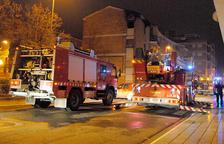 Desallotjats quinze veïns per un incendi a Mollerussa