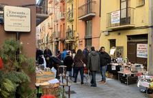 La Seu d'Urgell reobre després d'un mes el mercat dels Encants dels Canonges