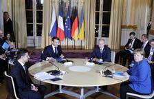 Ucraïna i Rússia intenten reprendre el diàleg a París